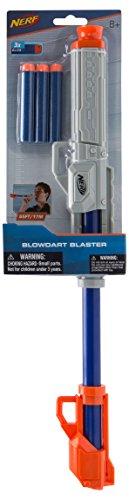Nerf Elite Blasrohr Blaster 11501 Geräuschlos, sehr präzise und mit hoher Reichweite, für actionreichen Spielspaß