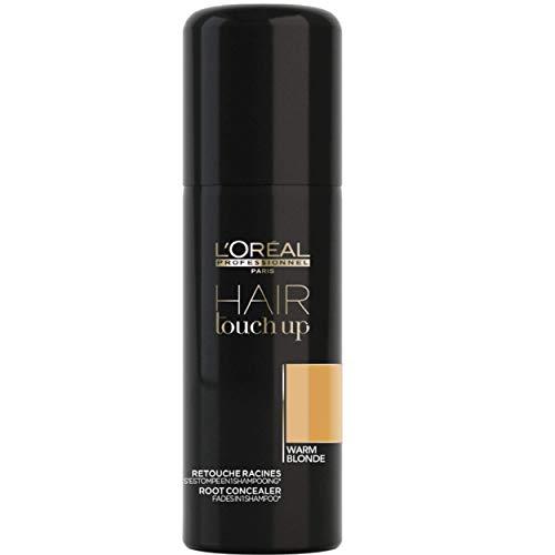 L'Oréal Professionnel Paris Hair Touch Up, Spray professionale per ritocco colore di capelli e radici, Biondo Chiaro - 75 ml
