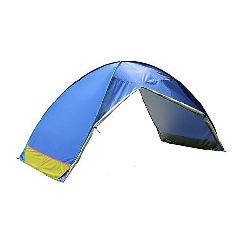DGZJ Rahmen Zelte Vollautomatische und Quick-Öffnung Sommer Sonnenschutz und Sonnenschutz-Zelt Ideal für Camping Wandern Außen (Color : Blue, Size : 2 Person)