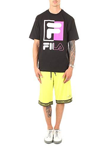 Fila T-Shirt Uomo Mod. 687475 002 Nero M