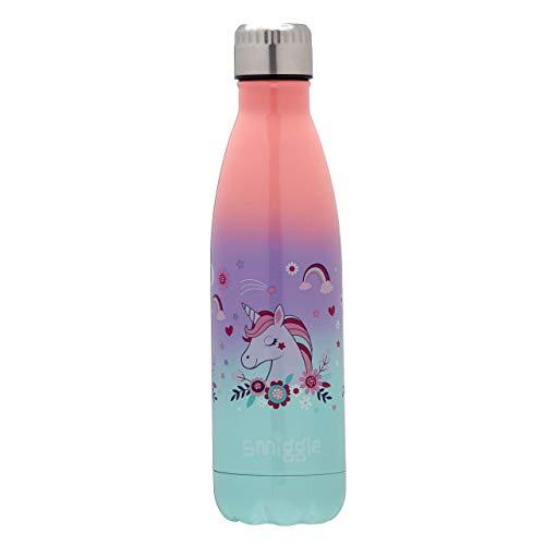Smiggle Wonder Stainless Steel Insulated Kids, botella de agua infanti