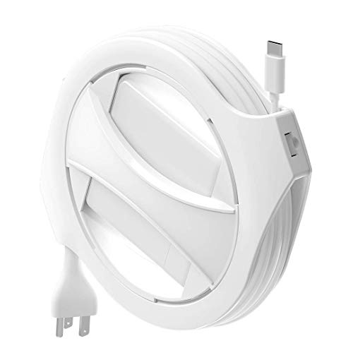 Fuse Reel USB-C MacBook Charger Organizer Compatible with 61W 87W and 96W USB-C MacBook Pro Adapters