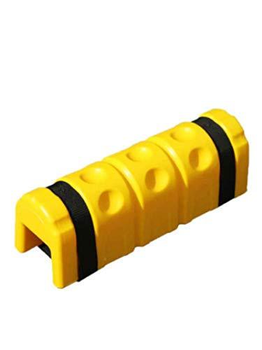 2 Stück Regalschutz Pfostenschutz Schutz für Regalstreben bis 10cm Rammschutz Kunststoff