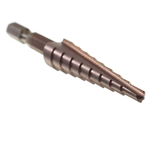 BOSAIYA Qaz1 HSS Triangle Shank Step bit bit bit Cutter 3-12/4-12/4-22/6-24mm Z Tl0309 (Color : 4-12mm)