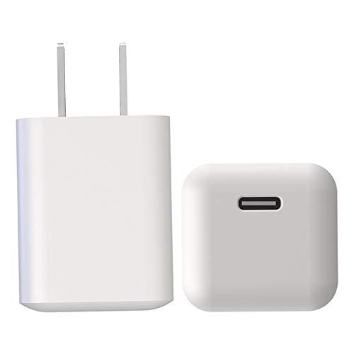 jessboyy Cargador de 18/20 w Adaptador de Corriente USB-C Cargador rápido para teléfono Nuevo 11 / 11Pro / 11 Pro MAX 12/12 Mini / 12 Pro / 12 Pro MAX