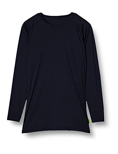 [エスエスケイ] アンダーシャツ ローネック長袖アンダーシャツ メンズ SCF170LL ネイビー (70) L