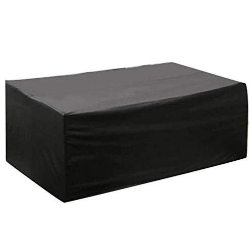ZSML 80X80X80cm Fundas para Muebles de jardín Impermeable, Funda para Muebles de Patio Rectángulo, Protector Sofá Mesa y Silla de Patio al Aire Libre Impermeable A Prueba de Polvo Four Seasons Un