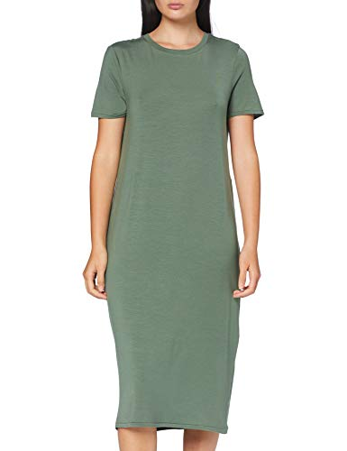 VERO MODA Damen VMGAVA SS Dress VMA Color Kleid, Laurel Wreath, L
