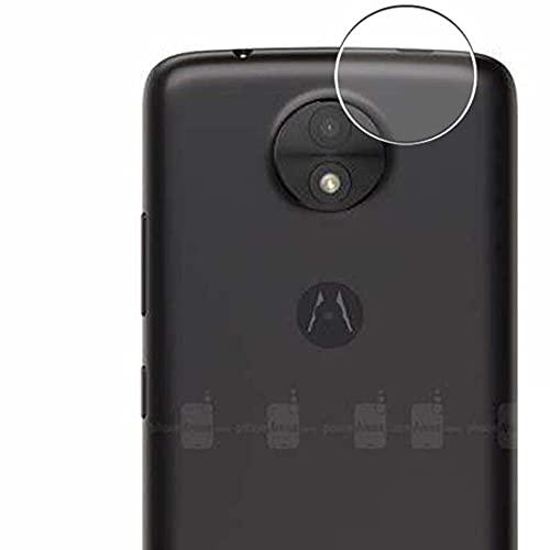 Vaxson 2 Unidades Protector de Lente de Cámara, compatible con Motorola Moto C [No Vidrio Templado/Funda Case ] TPU Película Protectora