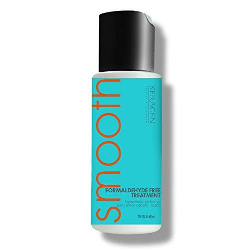 Keragen – Brazilian Keratin Hair Smoothing Treatment – Blowout Straightening System – Formaldehyde Free 2oz