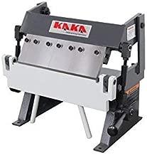 KAKA Industrial W-1220A, 12-Inch Box and Pan Brake, Solid Construction, High Accuracy Sheet Metal Box Pan Brake, Easy Operation, 20 Gauges Sheet Metal Brake