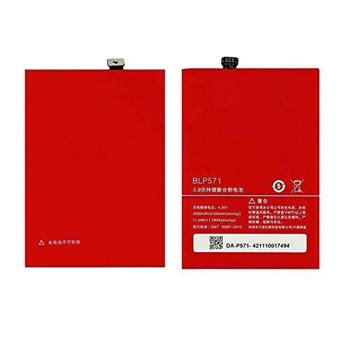 Ellenne Batería compatible con Oneplus BLP571 para One 1 Plus 1 + 3100 mAh con kit de desmontaje incluido