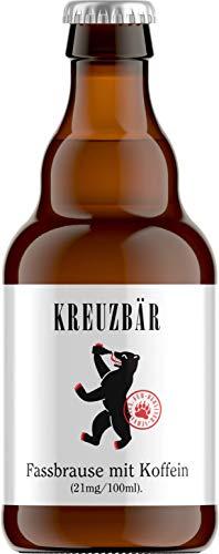 Kreuzbär -Fassbrause mit Koffein- 12 x 0,33 Liter, inkl. Pfand und Versand