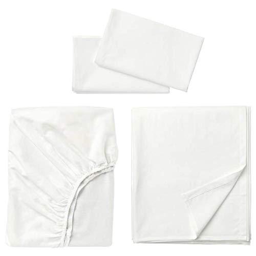 Ikea Fargmara Sheet Set White Queen 903.477.18