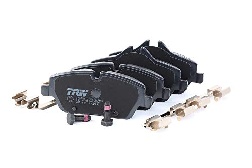 Preisvergleich Produktbild TRW GDB1611 Bremsbelagsatz,  Scheibenbremse - (4-teilig)