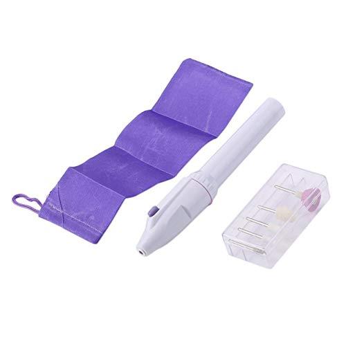 Pen Mini Professionnel Type de manucure électrique Ponceuse Pieds de sécurité portable Soins des ongles des mains de broyage Appareil polonais