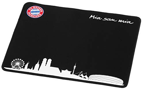 snakebyte FCB Gaming Mauspad - Offiziell lizenziertes FC Bayern München Mousepad / verbessert Präzision, Geschwindigkeit / Rutschfest / Reibungsarm / Low Latenz Gaming / verschleißfest / Größe 36x28cm