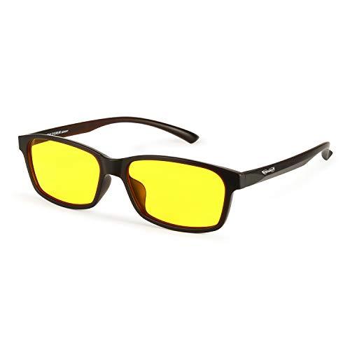 PRiSMA FREiBURG DRiVE Blaulichtfilter-Brille - für Autofahrer und Motorradfahrer bei Tag und Nacht - bluelightprotect - F923D N