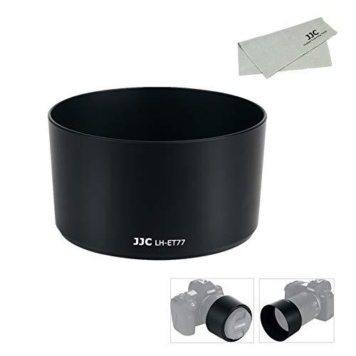 JJC ET-77 可逆式 レンズフード Canon RF 85mm F2 Macro IS STM レンズ 用 キヤノン EOS R5 R6 R RP Ra カメラ に対応