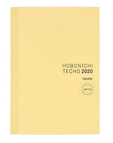 Hobonichi Techo Cousin Book Apr Start (Japanese/A5/Apr 2020 Start/Mon Start)