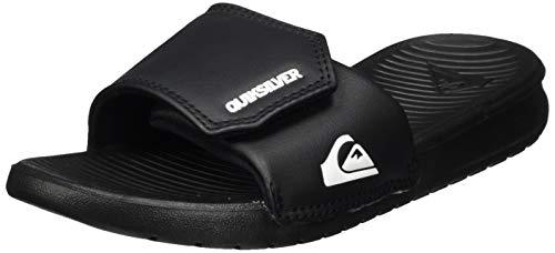 Quiksilver Bright Coast Adjust Youth, Zapatos de Playa y Piscina Niños, Negro (Black/White/Black Xkwk), 31 EU