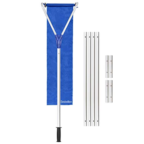 Sesiwillen Roof Snow Rake Removal Tool 20 Ft with Adjustable