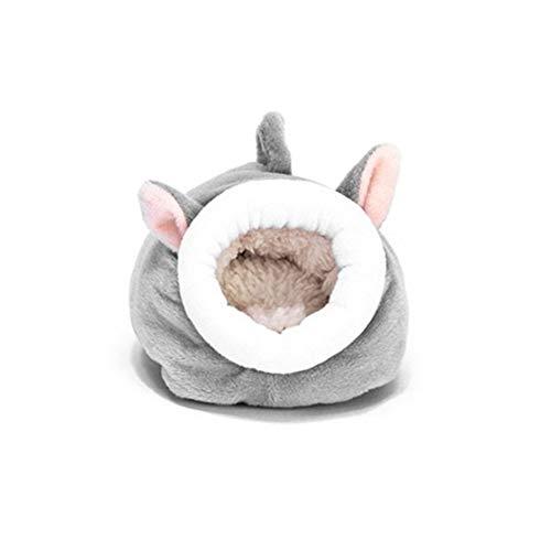 WeiCYN Maus Meerschweinchen Bett-Haustier Schlafen Haus Warm Hamster Hund Kätzchen Nest (Color : B)