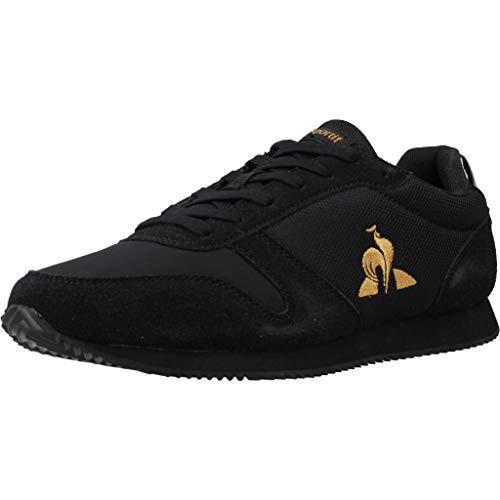 Le Coq Sportif Matrix Patent, Zapatillas Hombre, Black/Gold, 44 EU