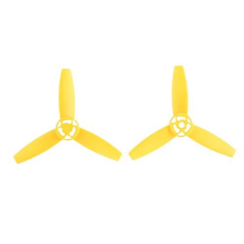 Greatangle-UK 2 Paia di Lame per eliche CW/CCW per Parrot Bebop 3.0 RC Drone Giallo