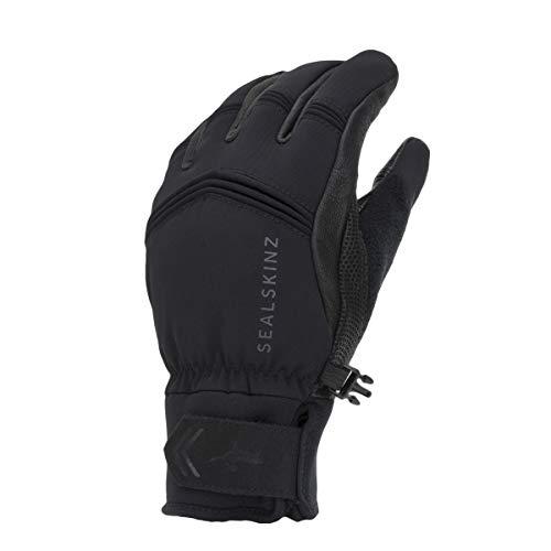 SEALSKINZ Guantes Impermeables para Hombre para Clima frío Extremo, Color Negro, Talla pequeña