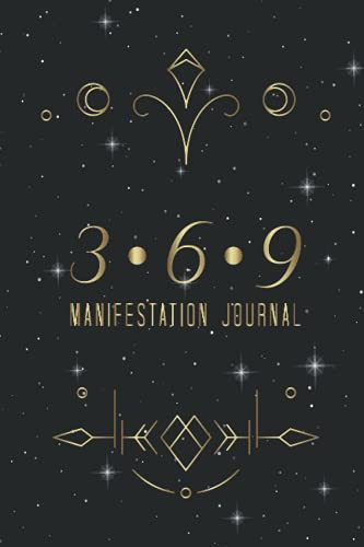 369 MANIFESTATION JOURNAL: The Power Law Of Attraction Manifesting Workbook | Writing Exercise Noteb