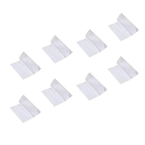 Exceart 8St Duidelijke TPU Vasthoudendheid Tape Flex Patches Tent Reparatie Tapes Waterdichte Patch Voor Vinyl Stof Reparatie