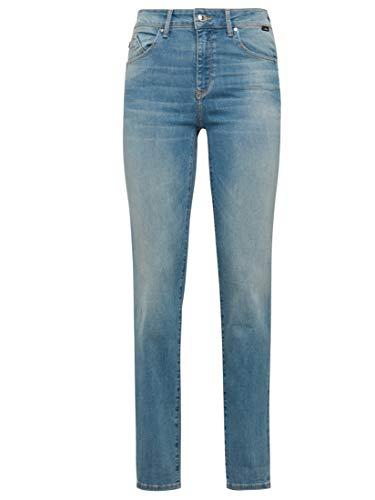 Mavi Damen Jeans Straight Leg DARIA Used Brushed 90'S STR 26 30