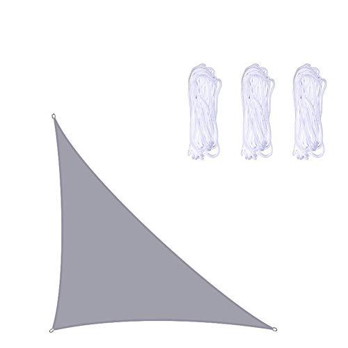 Driehoek Zon Shade Sail, Oxford Doek Schermschaduw Sail Luifel Luifel 95% UV Verstopping Water & Luchtdoorlatend Voor Patio Yard Pergola