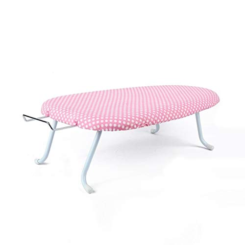 Ironing Boards Mesa de planchar ligera y moderna CDingQ, portátil, de plástico, transpirable, 2 colores, 60 x 36 x 19 cm de ancho