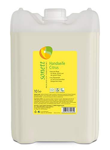 Handseife Citrus: Pflege für Hände, Gesicht und den ganzen Körper, 10 l