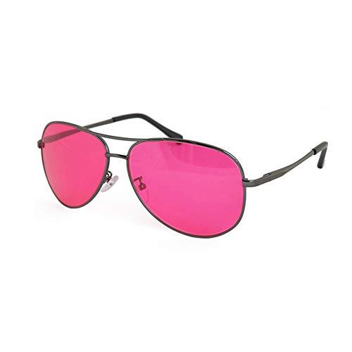 ZUEN Farbenblind Brille Rot-Grün Farbenblind Brille Korrigierte Farbenblind Farbenblind Sonnenbrille Farbenblind Fahrergläser
