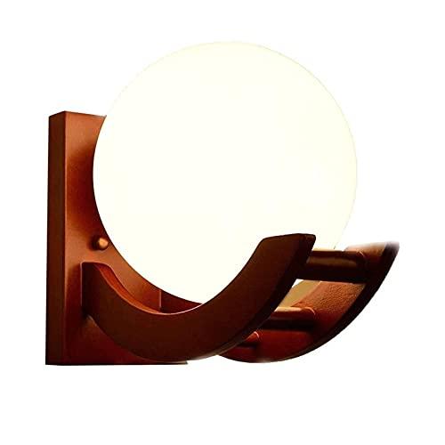 JNWEIYU Lámpara de Pared Interior Linterna de Pared China Linterna de Madera sólida de Madera de la Pared de la luz de la luz de la luz de la luz de la lámpara de la Pared de la lámpara de la Pared