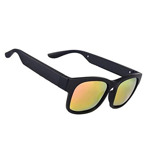 WXJWPZ DGafas Inteligentes Estéreo inalámbrico Gafas de Sol Bluetooth Gafas Deportivas Inteligentes Bluetooth Gafas de Sol de Audio para Exteriores