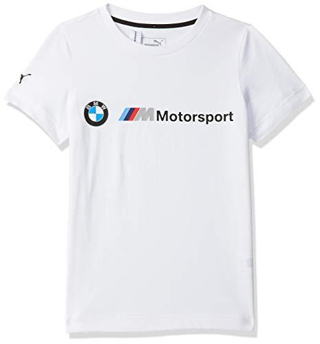 PUMA BMW M Motorsport Logo Jungen T-Shirt Puma White 140