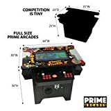 Cocktail Arcade Machine 1162 Games in 1 with 80's and 90's Classics Includes 2 Chrome Stools 5 YEAR WARRANTY NEW LARGE 26' LED Monitor