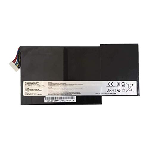 7XINbox 11.4V 64.98Wh 5700mAh BTY-M6J Replacement Laptop Battery for MSI GS63VR GS73VR 6RF-001US BP-16K1-31 9N793J200 6RF Stealth Pro