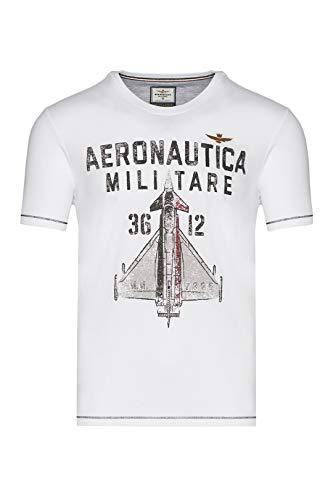 Aeronautica Militare Camiseta 1857 - Color - Blanco, Talla - L