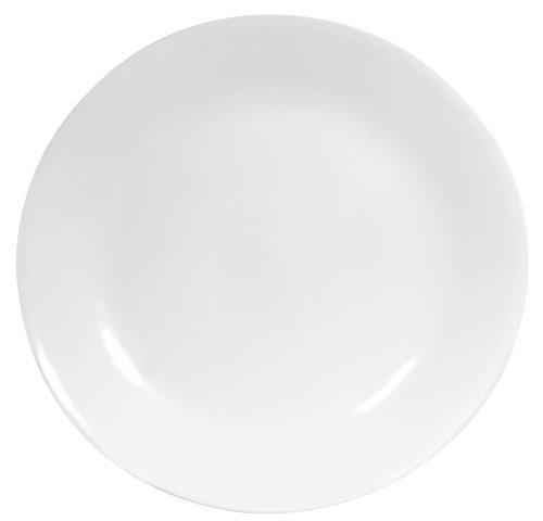 Corelle Livingware 1107731 18-Piece Dinner Plate Set, Winter Frost White (3 Sets of 6)
