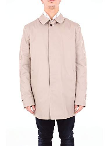 Luxury Fashion   Fragnelli Heren ELMO54285BEIGE Beige Polyester Trenchcoats   Seizoen Outlet
