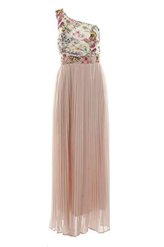 Fracomina Damen Kleid Long, Mehrfarbig S