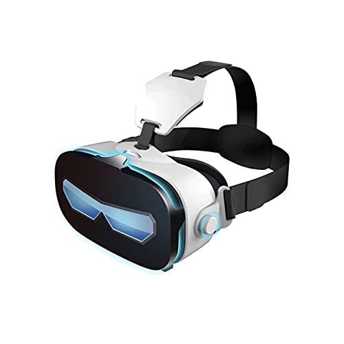 WERHA VR Auricular - Sin Remoto - Gafas de Realidad Virtual Universal - Reproduce Tus Mejores Juegos móviles 360 películas con un Nuevo y Suave y Confortable 3D VR Vasos