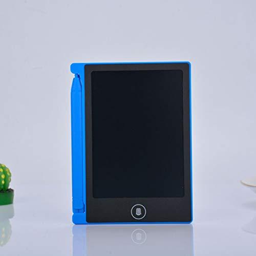 MOHAN88 Tablero de Escritura Digital LCD Bloc de Notas para niños Tablero de Oficina de Dibujo eléctrico Tablero de Escritura de la Escuela Tablero de exhibición-Azul