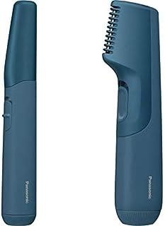 パナソニック ファーストフェイスシェーバー お風呂使用可 電池式 男性用 青 ER-GM40-A + ファーストボディトリマー 青 セット