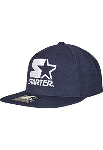 STARTER BLACK LABEL Unisex-Adult Starter Logo Snapback Baseball Cap, Blau, one Size